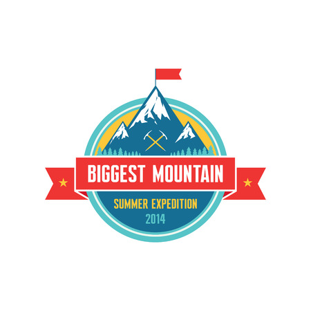 biggest: Biggest Mountain - Summer Expedition 2014 badge