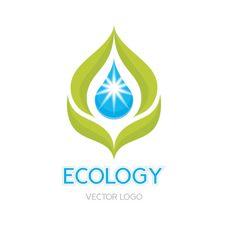 Ecology Concept Illustration  Vector