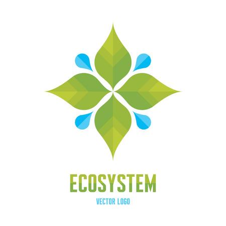 Ecosystem Concept Illustration