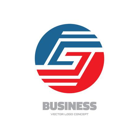 brand new: Business - abstract vector logo concept illustration. Vector logo template. Business abstract logo. Design element. Illustration