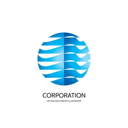 globus: Abstract logo concept illustration.