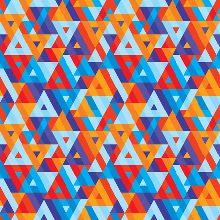 vitrage: Abstract geometric background - seamless vector pattern for presentation, booklet, website and other design project. Seamless vector background. Triangles background.
