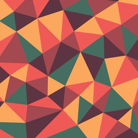 Fondo astratto poligonale - vector il modello nei colori rosa, marroni, verdi, ylellow.