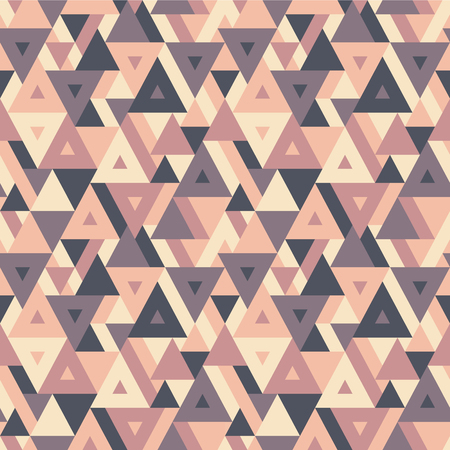 vitrage: Abstract geometric background - seamless vector pattern for presentation, booklet, website and other design project. Seamless vector background in vintage colors. Triangles background. Illustration
