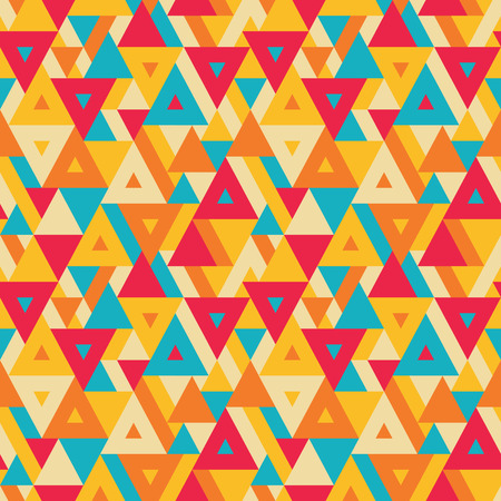 vitrage: Abstract geometric background - seamless vector pattern for presentation, booklet, website and other design project. Seamless vector background in positive colors. Triangles background. Illustration
