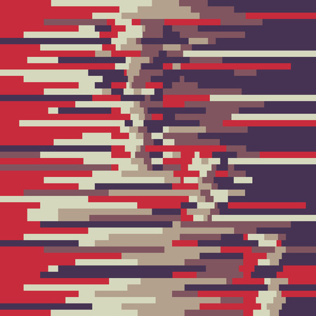 distorted: Abstract background pattern in glitch style design for creative print poster, website, brochure cover and other design projects. Glitch vector background. Glitch pattern. Digital background.