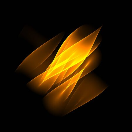 bitmaps: Abstract background. Geometric pattern. Orange flame sign. Digital art.