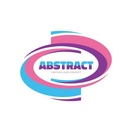 logo element: Abstract - vector logo concept illustration. Vector logo template. Abstract smooth form. Design element.