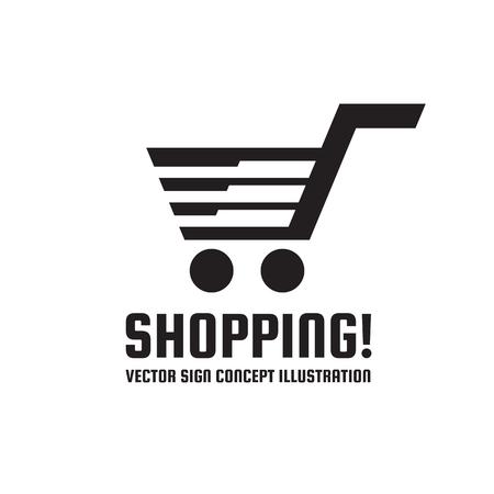 web shopping: Web shopping - Illustration