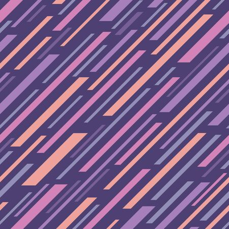 Abstract geometric background. Seamless pattern. Dynamic design style. Diagonal lines. Vector illustration. Imagens - 128889099