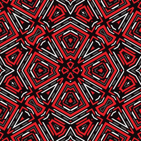 Background seamless pattern. Abstract carpet ethnic ornament. Vector illustration. Graphic design.