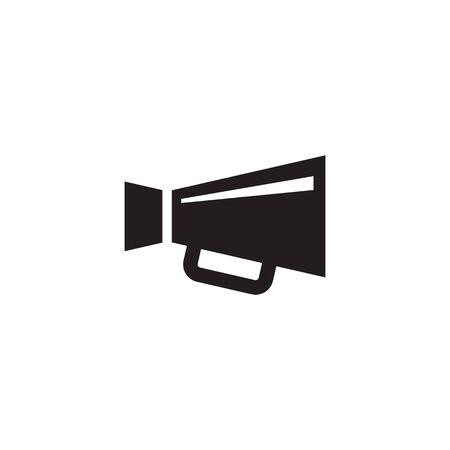 Loudspeaker vector icon. Megaphone promotion sign. Grpahic design element. Ilustração