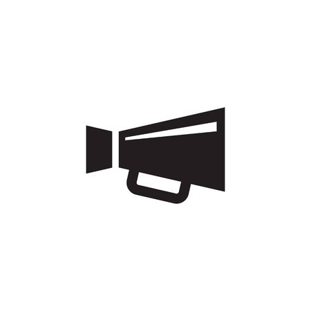 Loudspeaker vector icon. Megaphone promotion sign. Grpahic design element. 일러스트