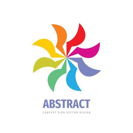 Teamwork vector logo template creative illustration. Social media logo symbol. Friendship concept logo sign. Design elements