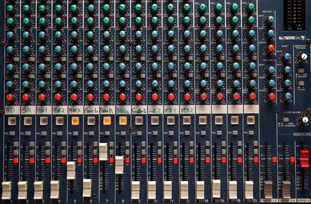 Particolare studio mixer Archivio Fotografico - 38270004