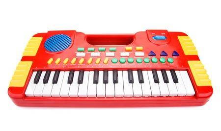 Children toy piano Foto de archivo