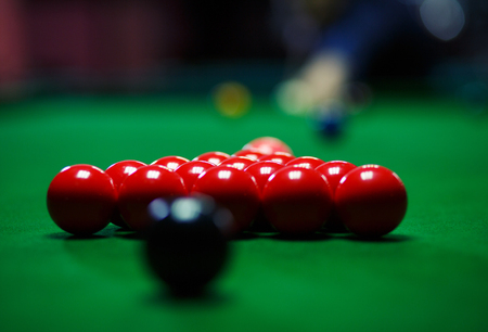 cue sticks: Ball and Snooker Player, man  play snooker