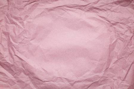 tex: pink Crumpled paper background, place for tex Stock Photo
