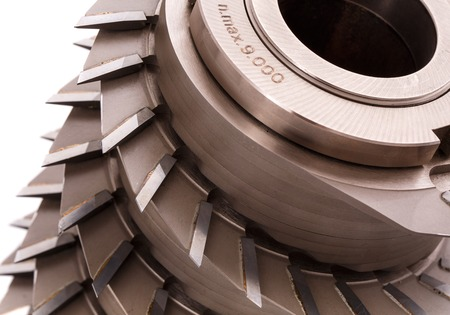 wood cutter: milling cutter for wood processing Stock Photo