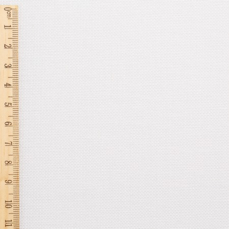 Fabric white cotton with tape measurement