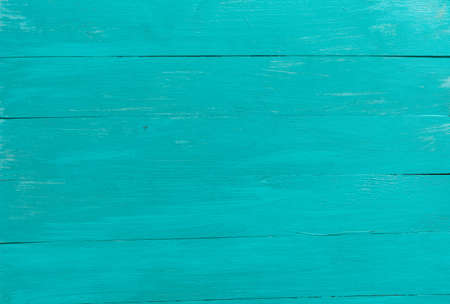 Blue background. Wooden blue horizontal boards background. Empty for design. 스톡 콘텐츠