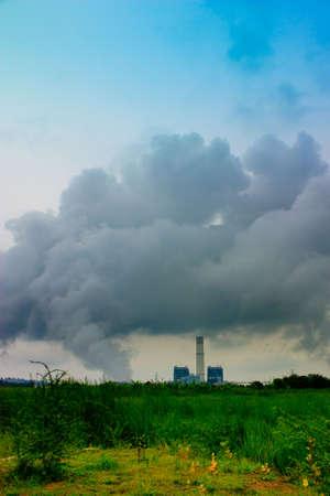 nimbus: Nimbus cloud generator amid the rice field