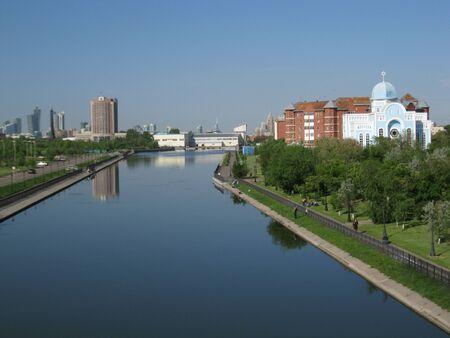 astana: Kazakhstan Astana Stock Photo