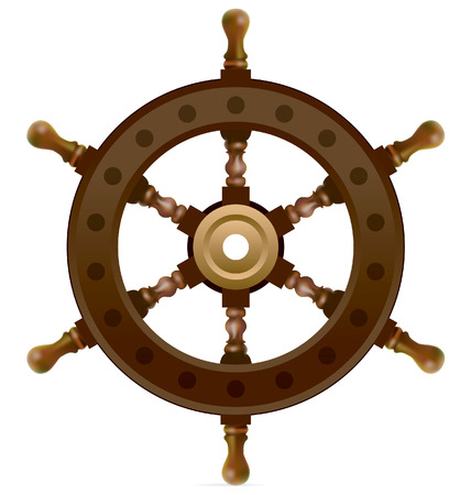 steering control  Stock Vector - 5456160
