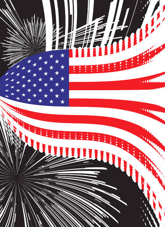 United States vector flag Stock Vector - 5503599