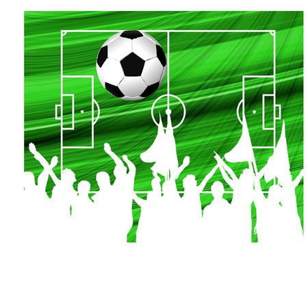 Vector football background Vector