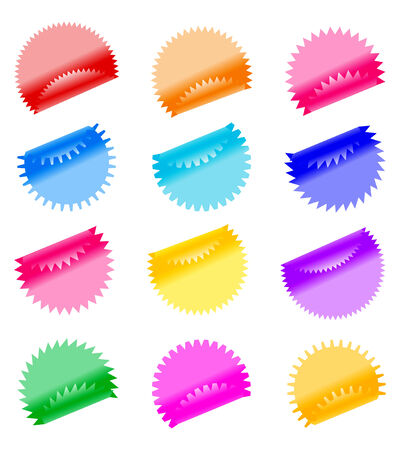 Labels badges and stickers. Vector illustration Stock Vector - 5655377