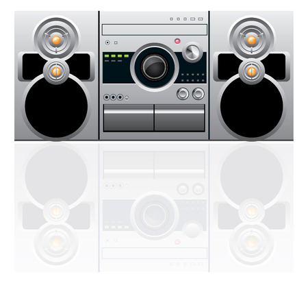 cd recorder: CD and cassette player