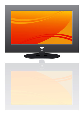 Plasma LCD TV  Stock Vector - 5979761