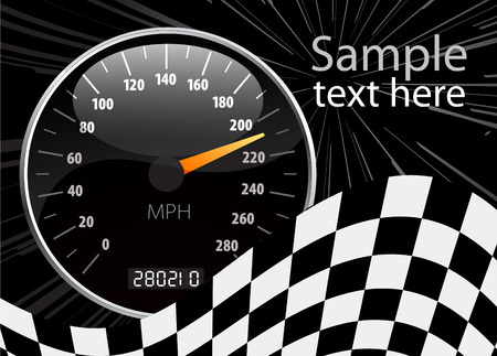 Speedometer vector illustration Stock Vector - 5979771