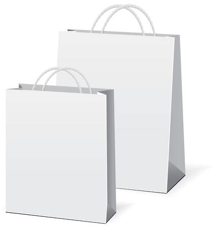 shopping paper bags Stock Vector - 6584825