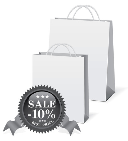 shopping paper bags Stock Vector - 6584827