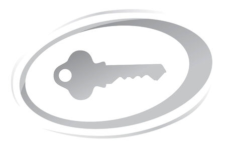Key icon Stock Vector - 6848569