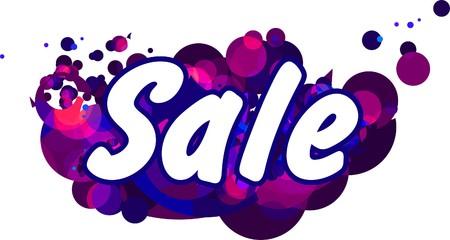 big deal: Sale illustration Illustration