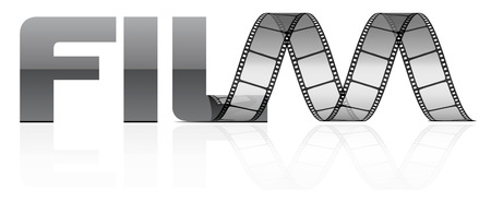 movie pelicula: tira de pel�cula