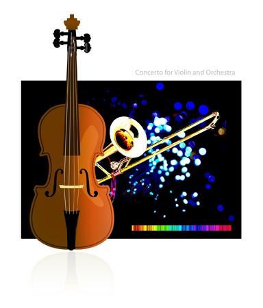 concerto: Concerto for Violin and Orchestra
