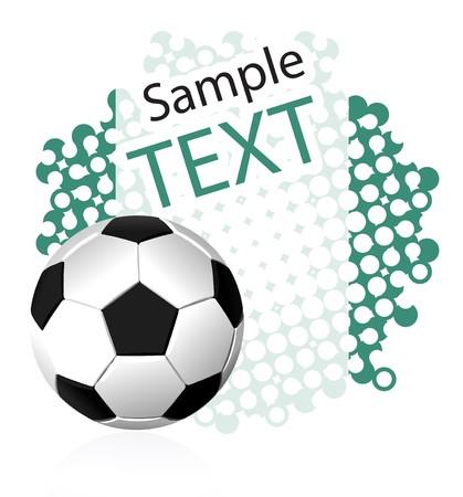 soccer stadium crowd: Soccer background Illustration