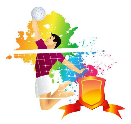 salud sexual: Jugador de voleibol