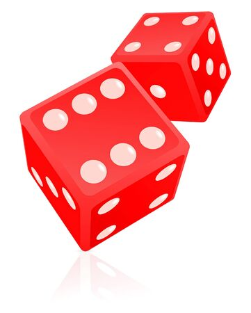 Dice illustration Stock Illustration - 7234976
