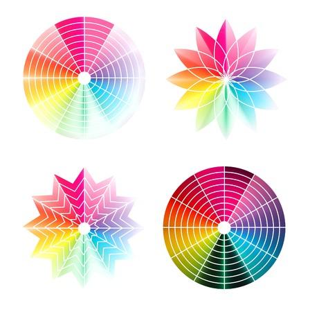 Color wheel  photo