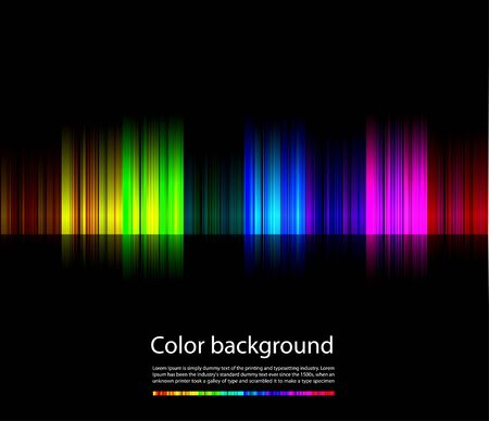 Abstract colorful background line Illustration