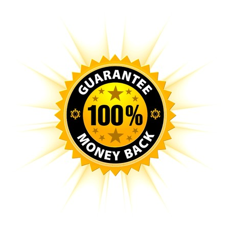 money back guarantee  Stock Vector - 7396422