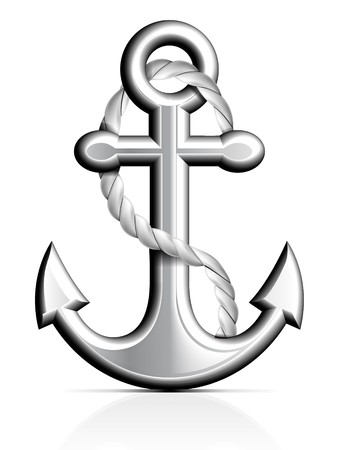 anchor: Anchor and Rope
