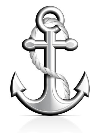 at anchor: Anclaje y cuerda