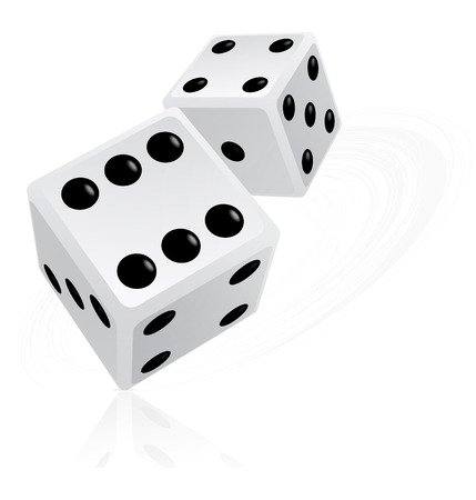 dices: Dice illustration