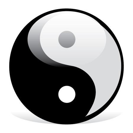 good bad: Symbole du Yin et Yang